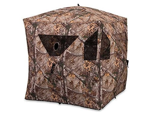 AMERISTEP BRICKHOUSE GROUND BLIND STYLE POP UP HUNTING TENT (Universal For Tent Bunk Bed)