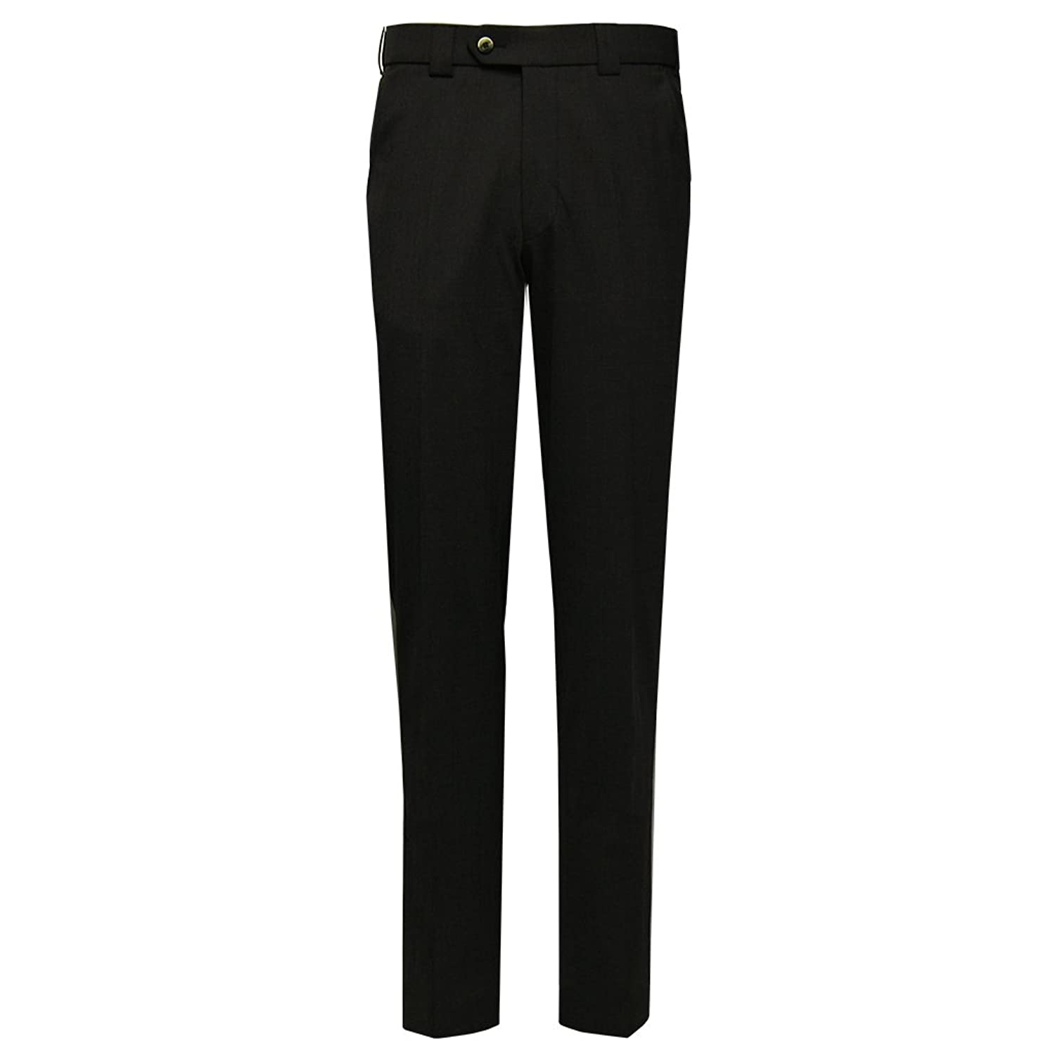 Meyer Trousers - Tropical Wool Mix Trouser - Black