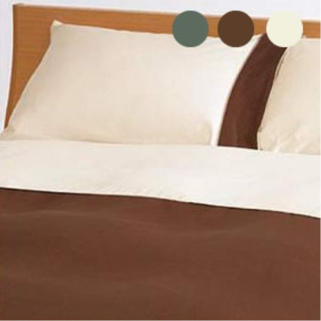 □寝装 寝具関連 おしゃれ□掛ふとんカバー ダブル オリーブ B07Q5CXMCL