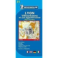 Lyon (Michelin City Plans)