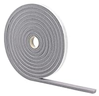M-D Building Products 2097 Low Density Foam Tape, 3/8-by-1/2-Inch-by-17 Feet, Gray