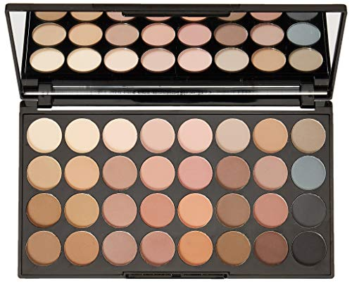 Makeup Revolution Ultra 32 Shade Eyeshadow Palette FLAWLESS MATTE: Amazon.co.uk: Beauty