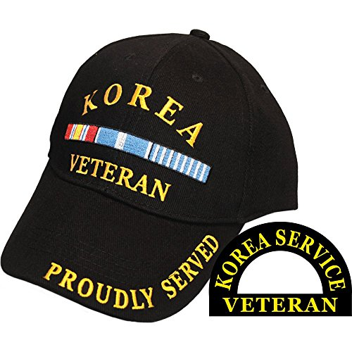 United States US Armed Forces Korean Korea War Veteran Official Baseball Cap