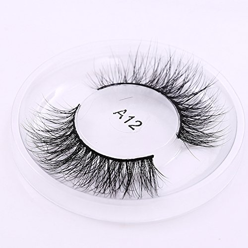 Private Label 3D Mink Eyelashes regular strip normal eyelashes Natural lashes A12, sold by lot(10 boxes)