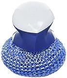 Dawn Handi Scrub and Storage Dish, 3.4 x 4.2 x3.7 Inch, White/Blue