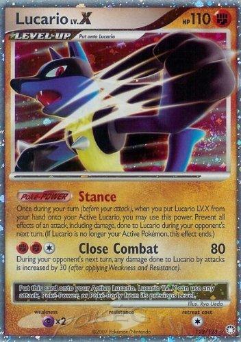 Pokemon Lucario Lv.X - Diamond & Pearl Mysterious Treasures - 122 [Toy] ()