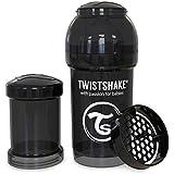 Twistshake 78042 - Biberón, color negro