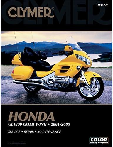 Honda 2018 Gold Wing Tour 1800 Service Manual