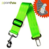 Dog Seat Belt and Leash All-in-One – Bright Green, My Pet Supplies