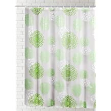 "J & M Home Fashions Print PEVA Shower Curtain, Botanical, 70"" x 72"""