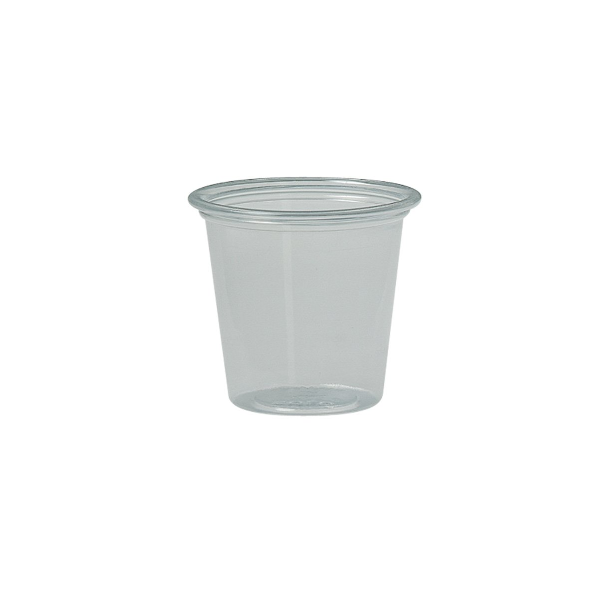 Solo T125-0090 1.25 oz Clear PS Portion Container (Case of 5000)