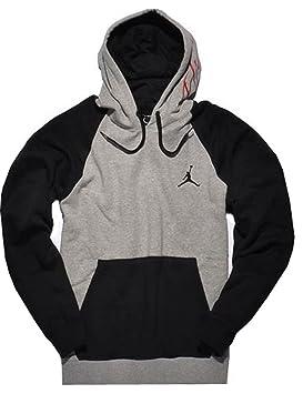 Nike Jordan 2tone Sudadera con capucha de sudadera gris de Negro 539841 - 064 tamaño XXL: Amazon.es: Deportes y aire libre