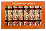 Thanksgiving Crackers - Box of 8 Traditional English Party Favors
