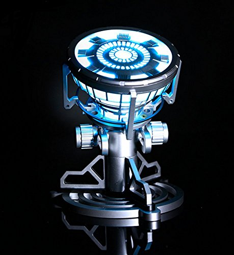 Gmasking Iron Man MK43 Led Arc Reactor 1:1 Replica+Gmask Keychain (Gmasking Iron Man compare prices)