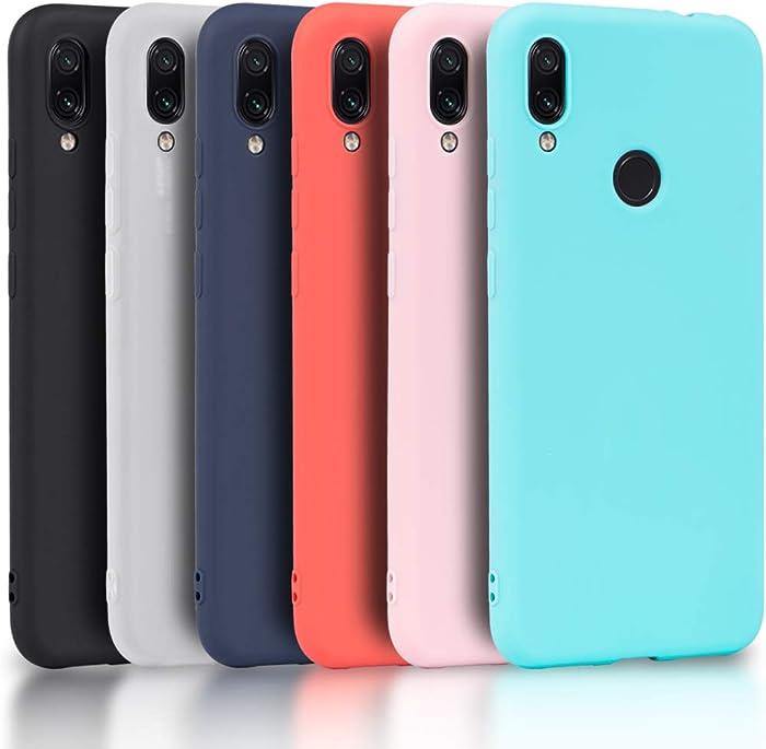 Los 12 Funda Silicona Xiaomi Redmi Note 7