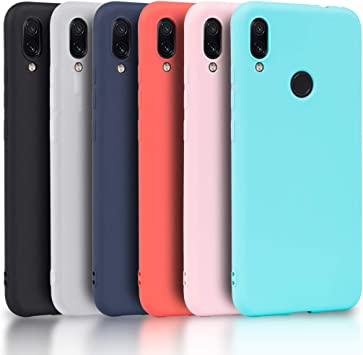 Wanxideng - 6X Funda Xiaomi Redmi Note 7, Carcasa en Silicona ...