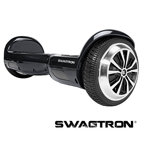 SWAGTRON T1 - UL 2272 Certified Hoverboard - Electric Self-Balancing Scooter – Your swag personal transporter awaits you. (Black) by Swagtron