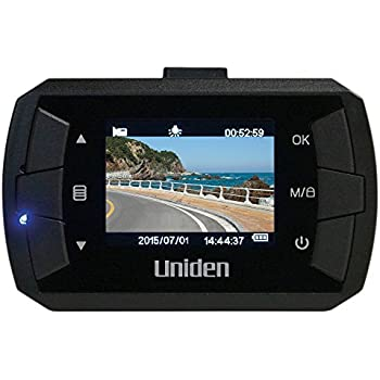 Amazon.com: Uniden Dash Cam HD Automotive Video Recorder with GPS ...