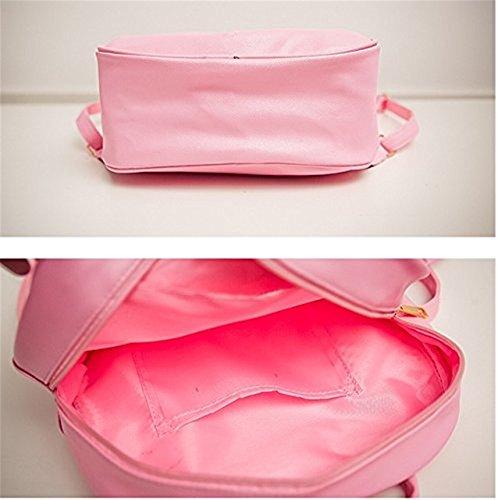 TOMATO-smile - Bolso mochila  para mujer Rosa