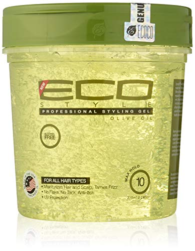 Eco Style Styling Gel, Olive Oil, 24 Ounce (Best Eco Styler Gel For 4a Hair)