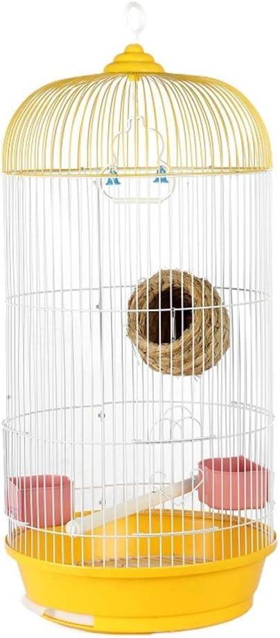 LBSX Interior/Exterior Escalera Decorativo Jaula de pájaro de Letrán Jaula del Loro pequeño Loro de la Jaula del Loro Juguete de la Hierba Nido oscilación Piel del Tigre Peony pequeño Sol Loro