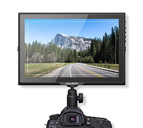 LILLIPUT 10.1'' FA1014/S 10.1'' IPS 3g-sdi Hdmi In&out Vga Camera Monitor with Integrated Dustproof Front Panel with Lp-e6 Battery and Charger by Lilliput