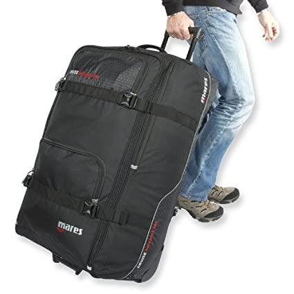 b75ed2127798 Amazon.com : Mares Cruise Backpack Pro Scuba Gear Bag, Scuba Roller Dive Bag  by Mares : Sports & Outdoors
