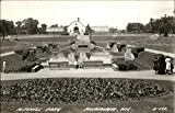 Mitchell Park Milwaukee, Wisconsin Original Vintage Postcard