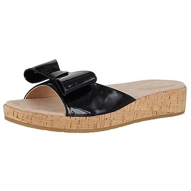 775e57b01cd Easy Spirit Mimosa Black Womens Slide Size 7.5M