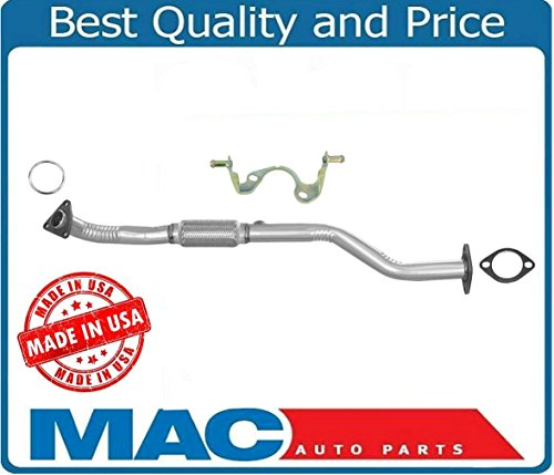 Mac Auto Parts 42130 Front Engine Exhaust W/Flex Pipe & Bracket For 1996-2001 Nissan Altima 2.4L