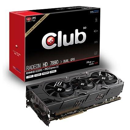 CLUB3D CGAX-7999 Radeon HD7990 6GB GDDR5 - Tarjeta gráfica ...