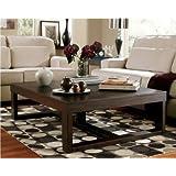Ashley Furniture Signature Design - Watson Coffee Table - Cocktail Height - Rectangular - Dark Brown