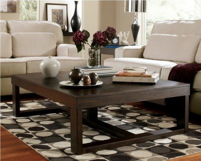 Elegant Amazon.com: Ashley Furniture Signature Design   Watson Coffee Table    Cocktail Height   Rectangular   Dark Brown: Kitchen U0026 Dining