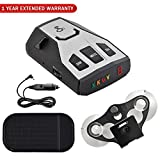 Cheap Cobra RAD 350 Radar and Laser Detector with Car Mat Bundle + 1 Year Extended Warranty