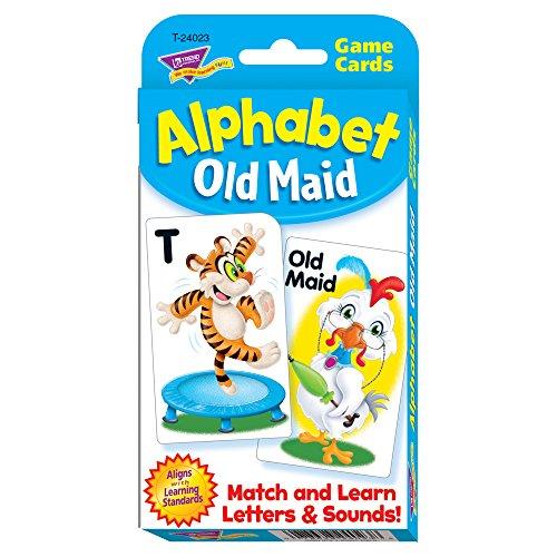 TREND enterprises, Inc. Alphabet Old Maid Challenge Cards (Pack of 56)