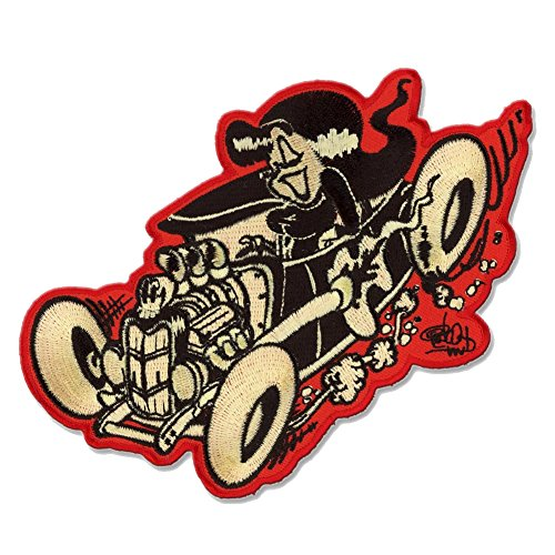 Shawn Dickinson Hot Rod Honey Patch Embroidered Iron On -