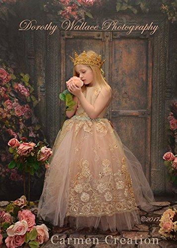 Golden Flower Girl by Carmen Creation