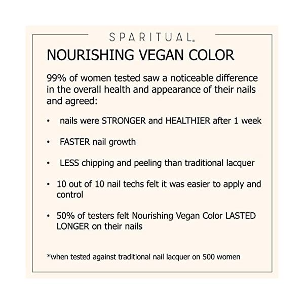 SPARITUAL Nourishing Vegan Nail Color | Blues + Greens