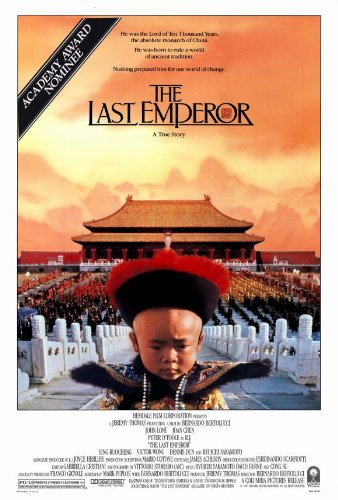 The Last Emperor Poster Movie 27x40 John Lone Peter O'Toole Joan Chen