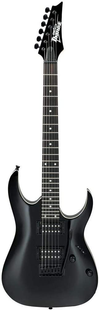Ibanez GRGA 6 String Solid-Body Electric Guitar, Right, Black Night, Full (GRGA120BKN)