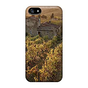 AlexandraWiebe Shockproof Vineyards In The Valley At Sunrise Hard For SamSung Note 4 Phone Case Cover