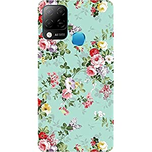 Amagav Soft Silicone Printed Mobile Back Cover for Infinix Hot 10S -Design117