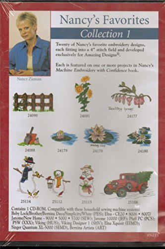 Nancy's Favorites Collection 1 (Nancy Zieman / Amazing Designs) by Amazing Designs