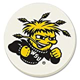 NCAA Wichita State Shockers Absorbent Stone Coasters - Set of 4