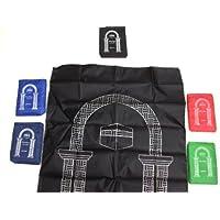 12 PCS Pocket Portable Travel Prayer rug Carpet Islamic Gebetsteppich Musallah Muslim 374