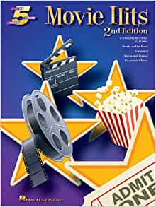 Movie Hits 5 Finger Piano - 2nd Edition (Five Finger Piano), , Good Book