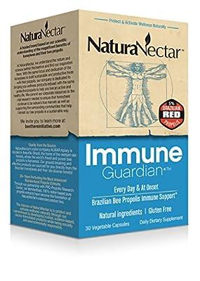 NaturaNectar Immune Guardian Capsules, 30 Count