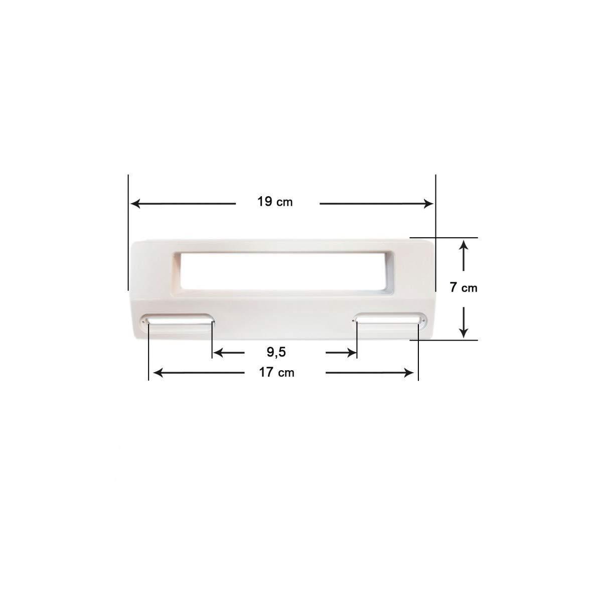 Recamania Tirador Blanco Puerta Frigorífico Universal 19x7 cm ...
