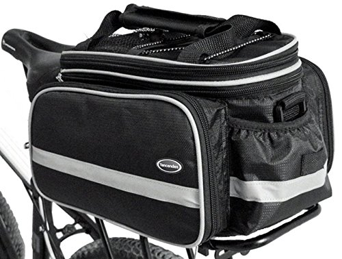 Find Cheap Tancendes Bike Rear Bag thicker rack straps Lengthened Shoulder Strap waterproof Nylon Bi...
