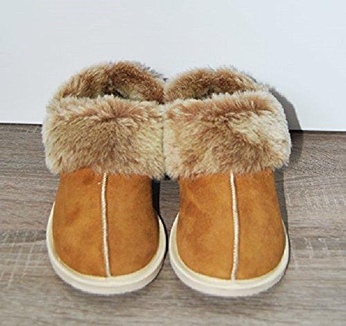 Schaffell Pantoffeln / Hausschuhe Slipper EUR 36
